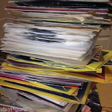 "Job Lot of 10 x 7"" Vinyl Single Records Punk + New Wave Random Mix"