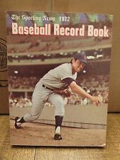 BASEBALL RECORD BOOK 1972 (The Sporting News)