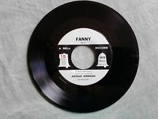 Arthur Norman Fanny / Count Your Blessings 45 rpm Record NM