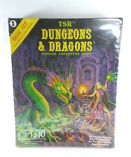 1981 Dungeons & Dragons Fantasy Adventure Game Basic Set TSR Sealed NEW