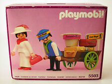 Playmobil 5503~Lady in White & Baggage Porter for the Victorian Mansion 5300~NIB