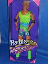 【ツ】Rarität NRFB TOP 1991 Rollerblade Barbie KEN Skater Rollschuhe leuchten