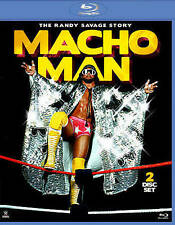WWE: Macho Man - The Randy Savage Story (Blu-ray Disc, 2014, 2-Disc Set)