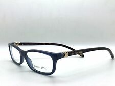 Tiffany & Co. TF 2036 Eyeglasses Frames Blue Gold Brown 8099 Authentic 52mm