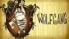 POSTER DON'T STARVE WILSON MAXWELL WILLOW WENDY WOLFGAN GAME DONT PS4 PS3 #10