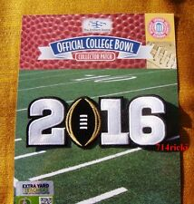 Official 2016 College Football National Championship Game Patch Clemson Tigers