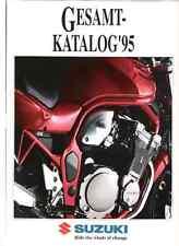 Suzuki Range 1995 German brochure GSXR1100 GSXR750 GSF600 Bandit Kevin Schwantz