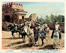 SIEGE OF THE SAXONS JANETTE SCOTT BY CASTLE ORIGINAL BRITISH LOBBY CARD