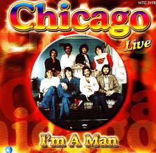 """CHICAGO Live """"I'm A Man"""" CD NEU & OVP"""