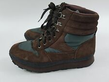 L.L. Bean Women's Brown Thinsulate Snow Boots Hiking Winter Boots Size 8 Vintage