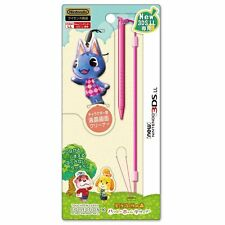 Animal Crossing Rosie Bouquet Touchpen Leash Stylus New Nintendo 3DS LL JAPAN