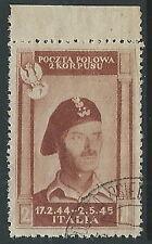 1946 CORPO POLACCO USATO 2 Z - U23-4