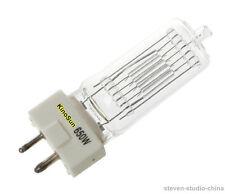 650 watts Halogen Bulb Lamp GY9.5 single ended 110V 230V for 650W fresnel light