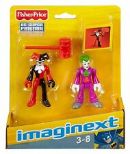 Imaginext DC Super Friends - The Joker and Harley Quinn  *BRAND NEW*