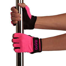 GOGRIP GLOVES - HOT PINK MEDIUM NON TACK GRIP FOR POLE DANCING X MIGHTY