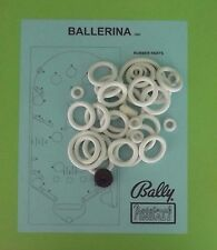 1948 Bally Ballerina pinball rubber ring kit