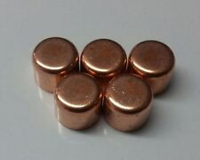 5 brand new 22mm copper end feed cap blank stop end plumbing fittings