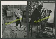 Flöter Hans Baumhauer München Croy Oskar Laske Maler Künstlerateliers Wien 1950