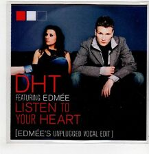 (GU467) DHT ft Edmee, Listen To Your Heart - DJ CD