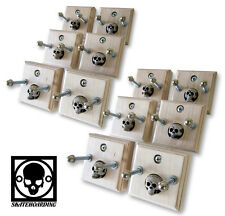 12-Pk Skateboard Deck Wall Mount Hanger Powell Mountain Santa Cruz Vision Natas
