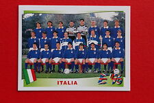 Panini EURO 96 N. 236 ITALIA TEAM New With BLACK back TOPMINT!!