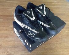 UNDER ARMOUR  Womens GLYDE IV Softball CLEATS, 1226309-011, Black NEW Size 6.5