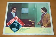 JEAN-PIERRE LEAUD MASCULIN FEMININ GODARD 1966 PHOTO VINTAGE LOBBY CARD #4