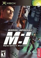 Mission: Impossible Operation Surma Xbox New Xbox