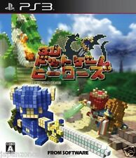 Used PS3  3D Dot Game Heroes SONY PLAYSTATION 3 JAPAN JAPANESE IMPORT