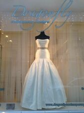 Suzanne Neville Mimosa Wedding Dress Ivory Silk Dupion British Made
