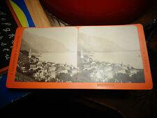 Ancienne Photographie Relief Visionneuse Suisse Montreux  Charnaux Genève