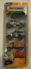 MATCHBOX 2017 JUNGLE MISSION 5-PACK*International CXT,Chevy Blazer,Mauler Hauler