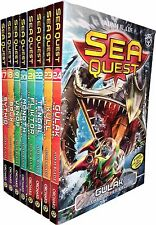 Sea Quest Series 5 and 6 Collection Adam Blade 8 Books Set Children Gift Pack