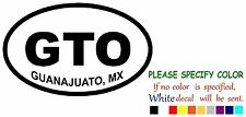 GUANAJUATO GTO #1 Mexico State Map Funny Vinyl Decal Sticker Car Window 7""