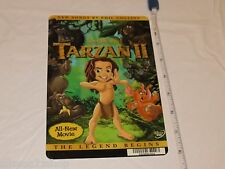 Tarzan II 2 Legend begins RARE movie mini POSTER collector backer card 8x5.5 in