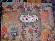 A Knight's Book/ Ali Mitgutsch/ hardback/ medieval Europe/ 1991/ oversized