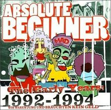 ABSOLUTE BEGINNER - THE EARLY YEARS 1992-1994  CD NEU