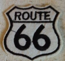 "ROUTE 66 - SEW Or IRON ON PATCH 2""x2"" Free Shipping Brand New"