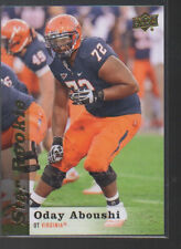 ODAY ABOUSHI  2013 UPPER DECK STAR ROOKIE CARD #96