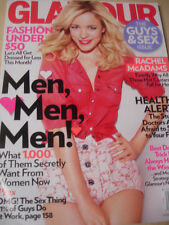 february 2012 Glamour Rachel McAdams cover + The Guys & Sex issue