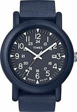 Timex TW2P62600, Originals Camper Nylon Watch, Indiglo, Date, TW2P626009J