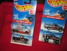 Lot of 4 RACE TRUCK SERIES T600 hot wheels #380 #381#382 #383 4 different 1995