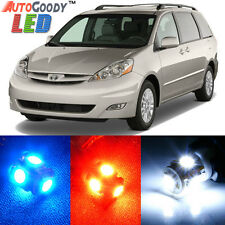 19 x Premium Xenon White LED Lights Interior Package Kit for Toyota Sienna 04-10