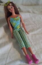 Mattel Beach Barbie Indonesia Sunglasses Brunette Flower Tank Pants