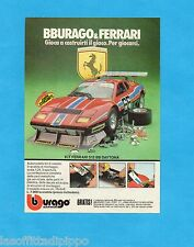 TOP983-PUBBLICITA'/ADVERTISING-1983- BURAGO - FERRARI 512 BB DAYTONA
