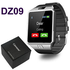 DZ09 Bluetooth Smart Watch Phone + Camera SIM Card For Android IOS Phones iPhone