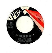 Ivan and the Sabers 45 Just Let Her Go - Ohio Garage Lemon Pipers - HEAR