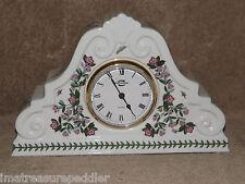 PORTMEIRION Botanic Garden Rhododendrum Mantle Clock