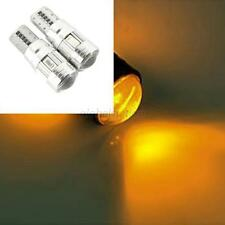 2 X HID CANBUS T10 W5W 5630 6-SMD Car Auto LED Light Bulb Lamp Yellow Color G45