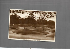 Lancashire Bolton Queens park flower beds  Real Photo card posted 1932  A061